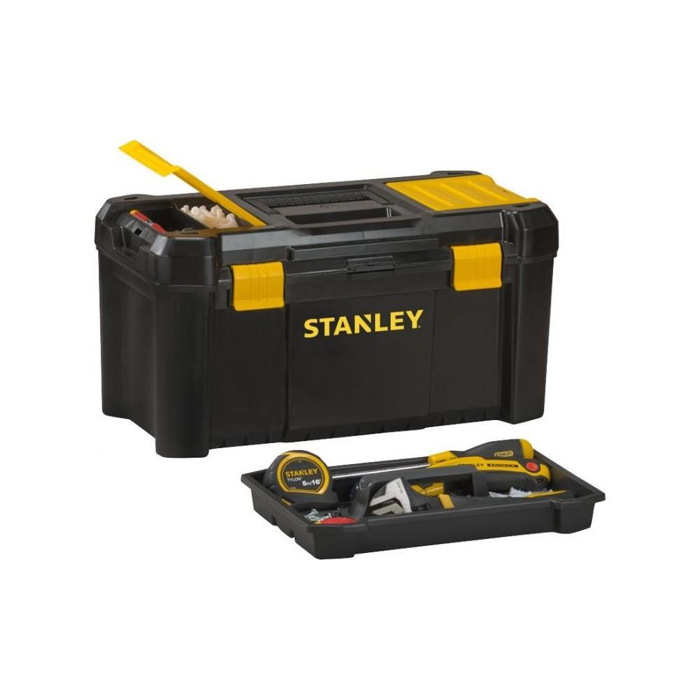 STST1-75520 Stanley pagrindinių įrankių dėžė - plastiko užraktai