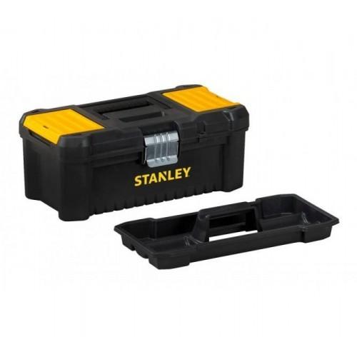 STST1-75518 Stanley pagrindinių įrankių dėžė - metalo užraktai