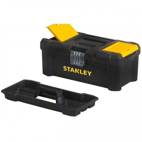 STST1-75515 Stanley pagrindinių įrankių dėžė - metalo užraktai