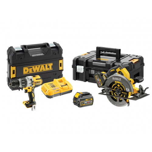 DCK2056T2T DeWALT 18V/54V įrankių rinkinys