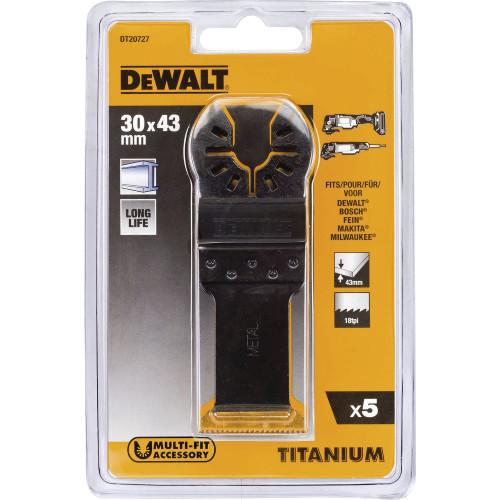 DT20727 DeWalt įpjaunamųjų pjūklelių priedų rinkinys