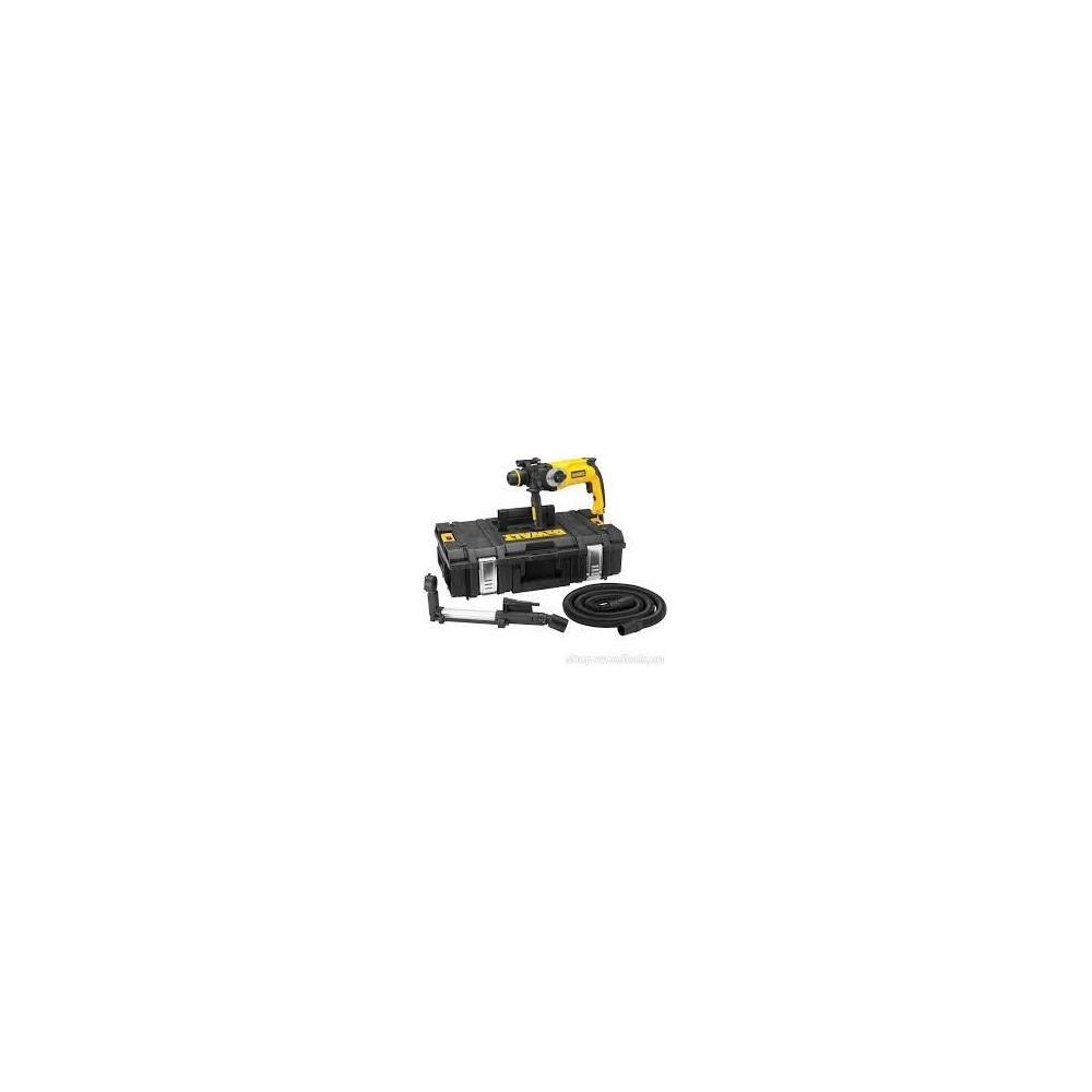 D25125K DeWALT  SDS Plus perforatorius su teleskopiniu dulkių nusiurbimo antgaliu