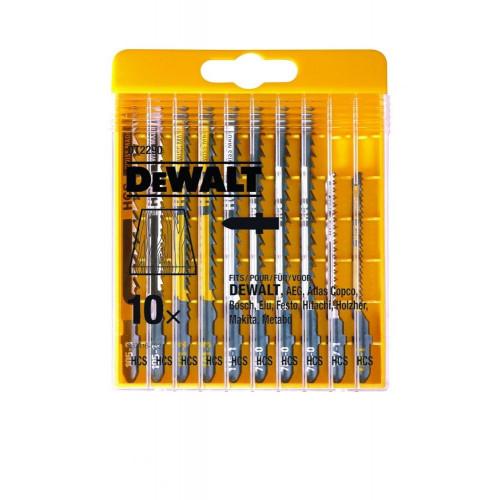 DT2290 DeWALT pjūklelių siaurapjūkliui rinkinys (10 vnt.)