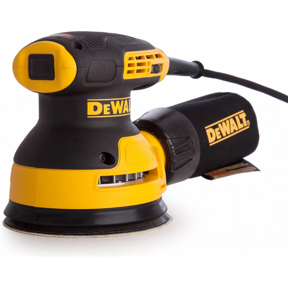 DWE6423 DeWALT elektrinis ekscentrinis šlifuoklis 280W
