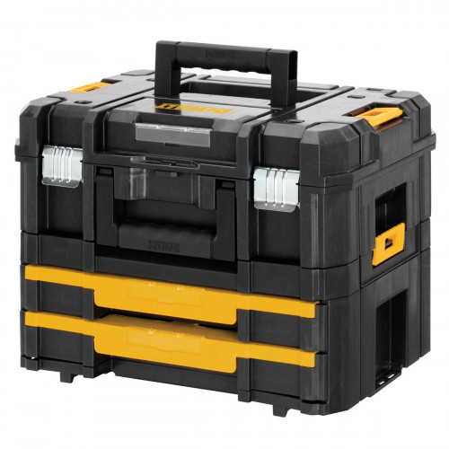 DWST1-70702 DeWALT TSTAK Combo II + IV didelė įrankių dėžė