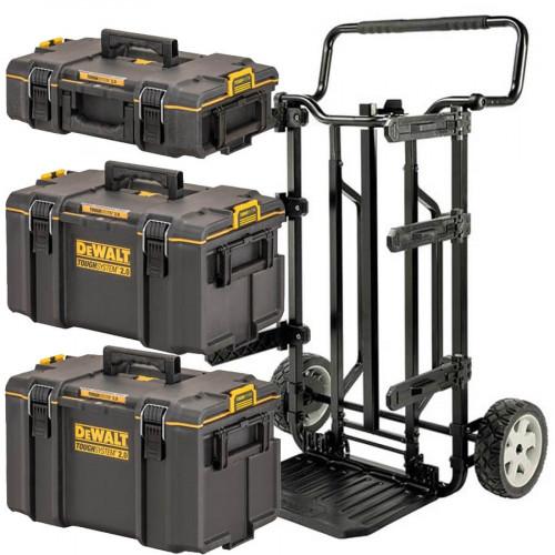 DWST83401-1 DeWALT TOUGHSYSTEM 2.0 vežimėlio ir dėžių komplektas
