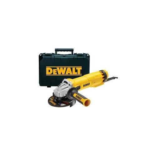 DWE4207K DeWALT  1000W 125mm kampinis šlifuoklis