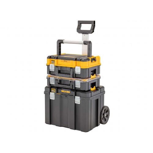DWST83411-1 DeWALT TSTAK 2.0 dėžių ir vežimėlio komplektas