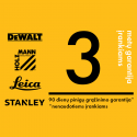 Akumuliatorinis diskinis pjūklas DeWalt FlexVolt DCS520T2 + 1,5 metro kreipiančioji liniuotė