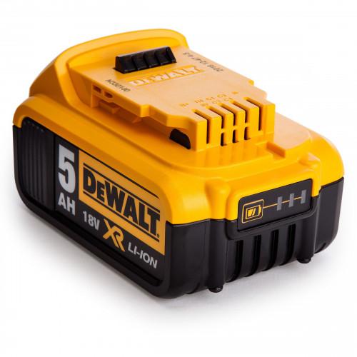 DCB184 DeWALT 18V 5.0 Ah XR Li-Ion baterija