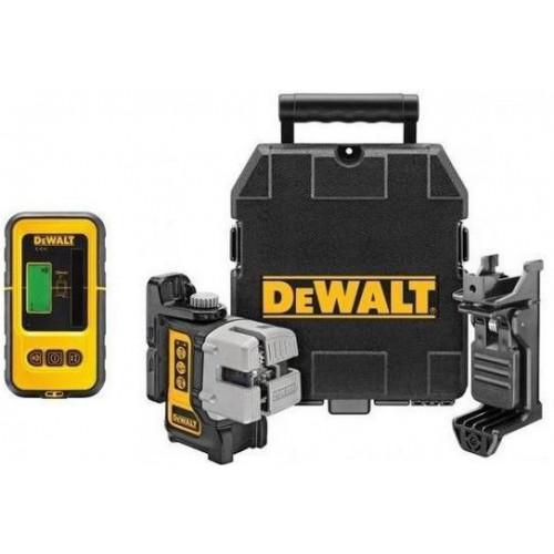DW089KD DeWALT 3 krypčių savaime susireguliuojantis lazeris