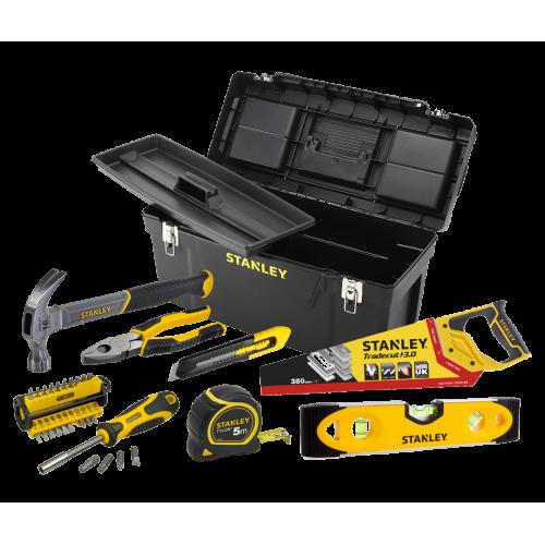 Stanley įrankių rinkinys, kuris privalo būti kiekvienuose namuose