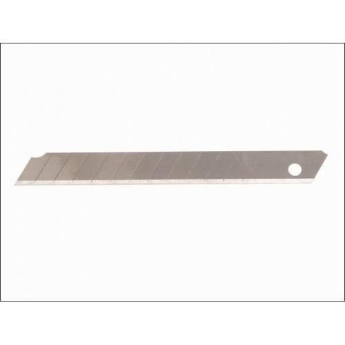 0-11-300 Stanley peilių geležtės - 10 vnt (9 mm)