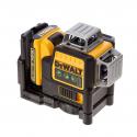 DCE089D1G DeWALT kryžminių linijų lazeris + DeWALT lazerio detektorius