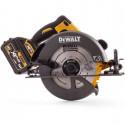 DCS575T2 DeWALT FLEXVOLT 54V diskinis pjūklas (2x6.0 Ah)