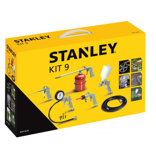9045718STN Stanley KIT 9 oro kompresoriaus priedų rinkinys