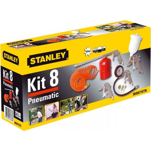 9045671STN Stanley KIT8 oro kompresoriaus priedų rinkinys