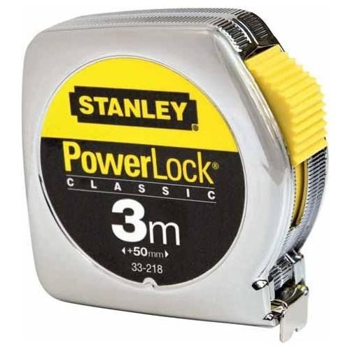 0-33-218 Stanley matavimo ruletė metaline juosta PowerLock, 3m 0-33-218