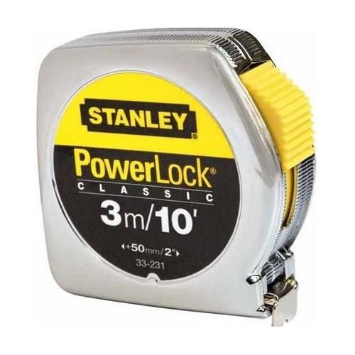 0-33-203 Stanley matavimo ruletė PowerLock, 3m