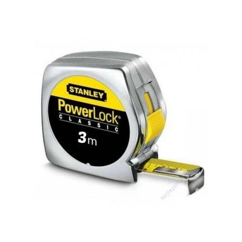 0-33-041 Stanley matavimo ruletė PowerLock, 3 m 0-33-041