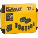 DT7506 DeWALT smūginių sukimo galvučių rinkinys (17 vnt.)