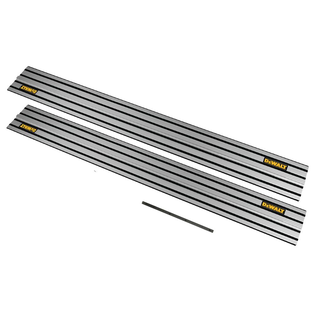 DWS5022 DeWALT 1,5 m kreipančioji liniuotė (2 vnt.) + DE6292 jungtis