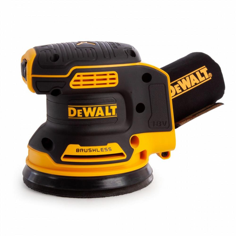 DCW210N DeWALT 125 mm ekscentrinis šlifuoklis