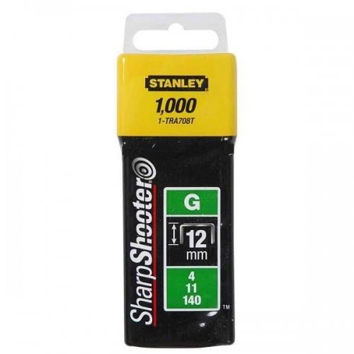 1-TRA708T Stanley kabės 1000 vnt. 12 mm