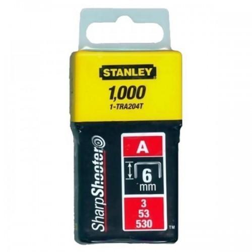 Stanley kabės 1000 vnt. 6 mm