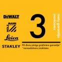 DCG412N DeWALT 18 V XR akumuliatorinis Li-Ion kampinis šlifuoklis