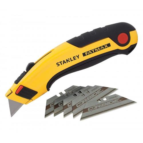 7-10-778 Stanley FATMAX peilis su įtraukiama geležte  + 5 CABRIDE peiliai