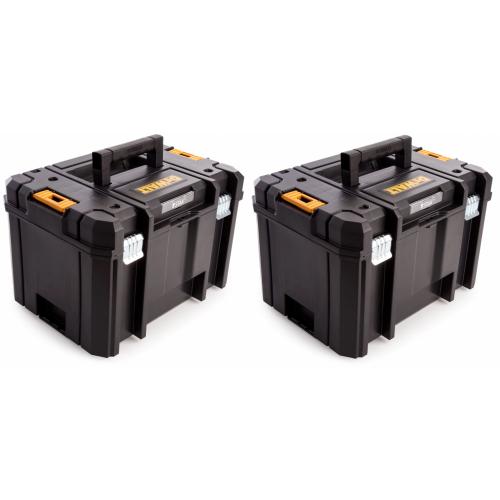 2 x DWST1-71195 TSTAK VI DeWALT įrankių dėžė