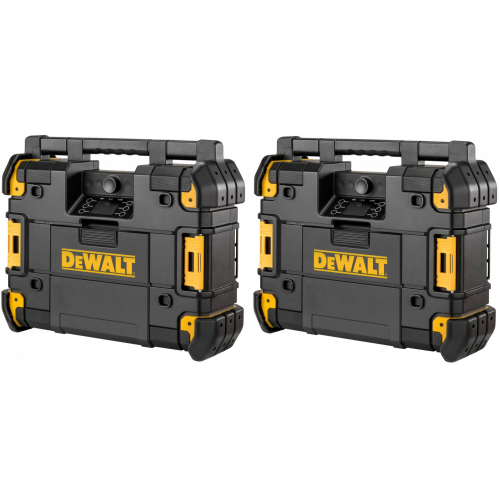 2 x DWST1-81078 DeWALT TSTAK radijo imtuvas