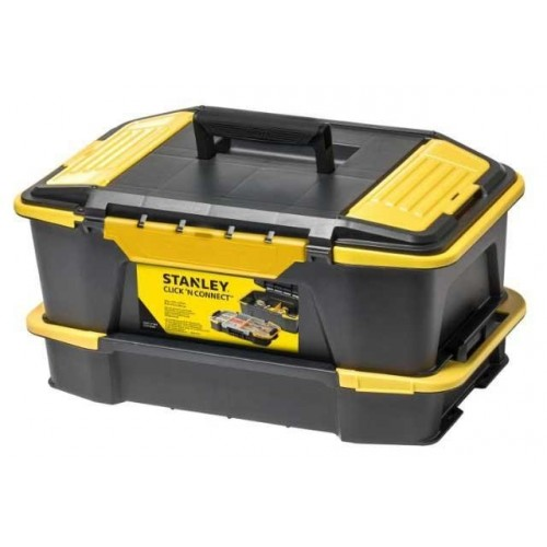 STST1-71962 Stanley įrankių dėžė + organaizeris | IrankisPlius.lt