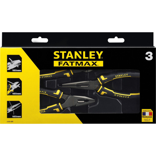 4-84-488 Stanley FatMax plokščiareplių 3 vnt komplektas