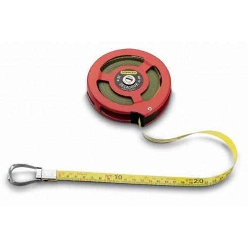 0-34-406 Stanley matavimo ritė atviru dėklu, 20m
