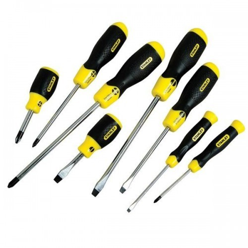 0-65-011 Stanley PHILIPS įrankių su minkštomis rankenomis  rinkinys, 8 dalių