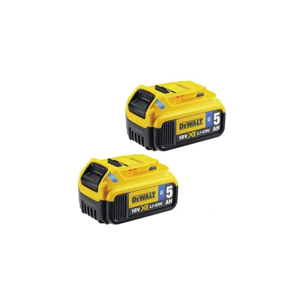 DCB284B DEWALT 18 V 5.0 Ah XR Li-Ion Bluetooth baterijos