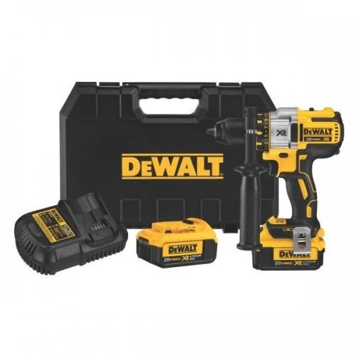 DCD990P2 DeWALT Gręžtuvas 2 x 5.0Ah XR Li-Ion DCD990P2   + DOVANA 1-68-734