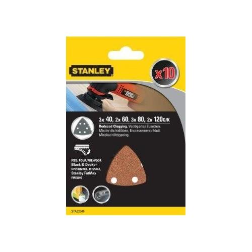 STA32348 Stanley šlifavimo popierius grūdėtumas:40/60/80/120
