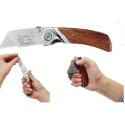 0-10-073 Stanley atlenkiamas peilis su medine rankena
