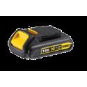 DCB181 DeWALT 18 V 1.5 Ah XR Li-Ion baterija