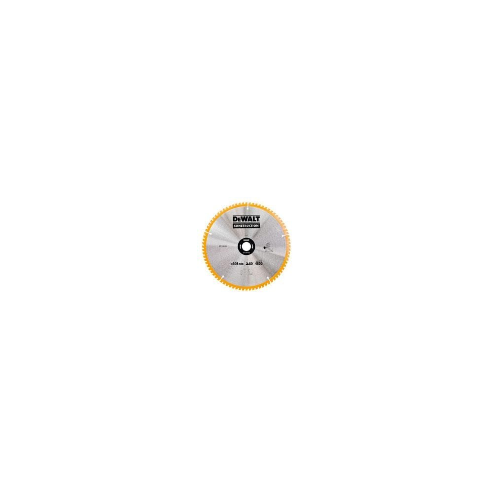 DT1184 Pjūklo diskas DeWALT 305mm 80T