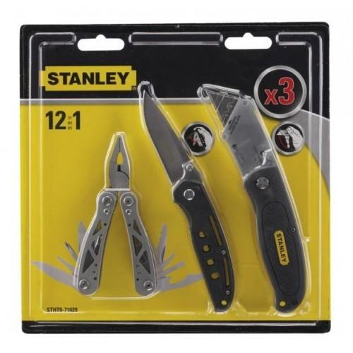STHT0-71029 Stanley 3 dalių universalus įrankio ir peilių rinkinys