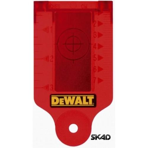 DE0730 DeWalt lazerio taikinio kortelė