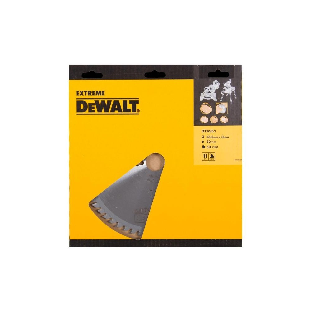 DT4351 DeWALT diskas 250 mm