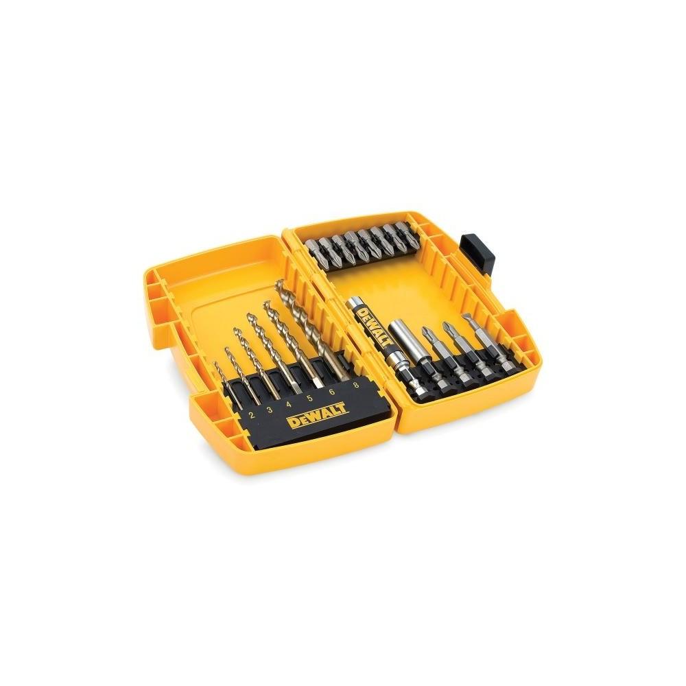 DT7921B DeWALT mažasis EXTREME 2 19 dalių grąžtų metalui rinkinys