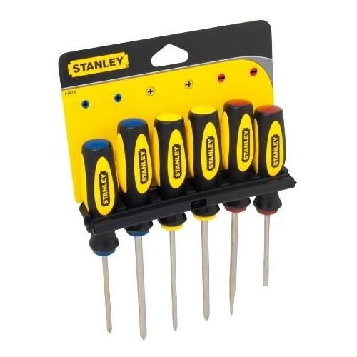 0-64-459 Stanley BASIC atsuktuvų rinkinys, 6 dalių