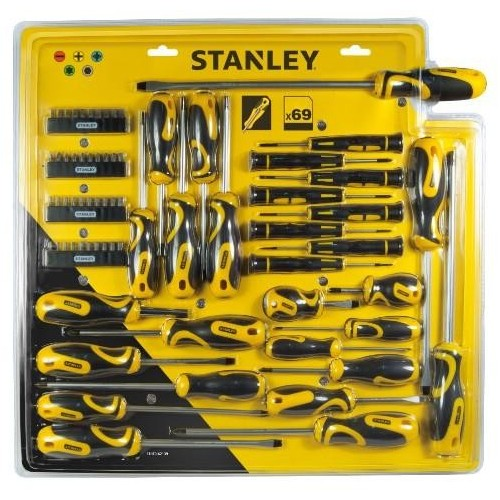 Stanley 69 dalių atsuktuvų rinkinys