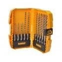 DT7935B DeWALT vidutinis 10 dalių priedų rinkinys su SDS Plus EXTREME 2 grąžtais